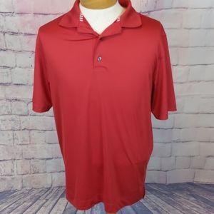 FootJoy red golf polo size medium